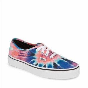 NWT Vans Authentic Tie Dye Sneakers